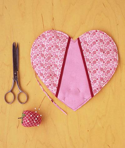 آموزش درست کردن دستگیره های آشپزخانه به شکل قلب
