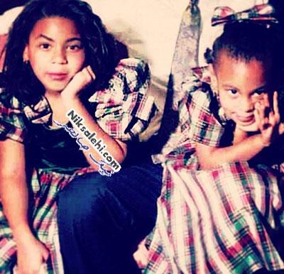 انتشار عکس های کودکی بیانسه و خواهرش در شبکه اجتماعی