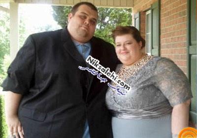 تغییر شگفت انگیز یک زن و شوهر پس از کاهش وزن