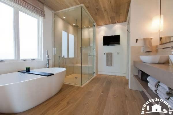 دکوراسیون حمام های مدرن اروپایی  تصاویر