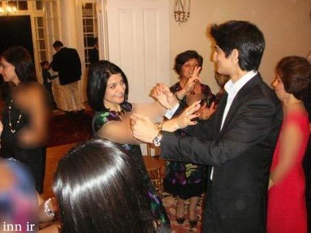 رقص آقای سفیر با شراب و زنان در آمریکا  تصاویر