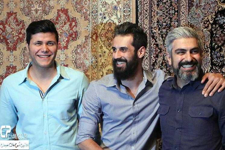 عکس های بازیگران و ورزشکاران در افتتاحیه نمایش فصل شکار بادبادک ها
