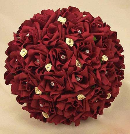 جدیدترین و شیک ترین مدل دسته گل عروس
