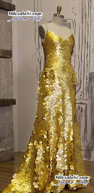 طراحی منحصر به فرد ترین لباس فرش قرمز