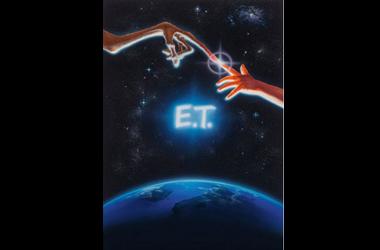 قیمت نسخه اصلی پوستر فیلم سینمایی «ای تی»! عکس
