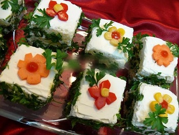یک اردور خوشگل و خوشمزه: ناپلئونی پنیر! عکس