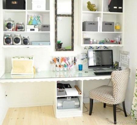 اتاق کارتان را در خانه طراحی کنید