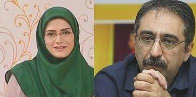 شهرام شکیبا مجری صدا و سیما در کنار همسر دومش! تصاویر
