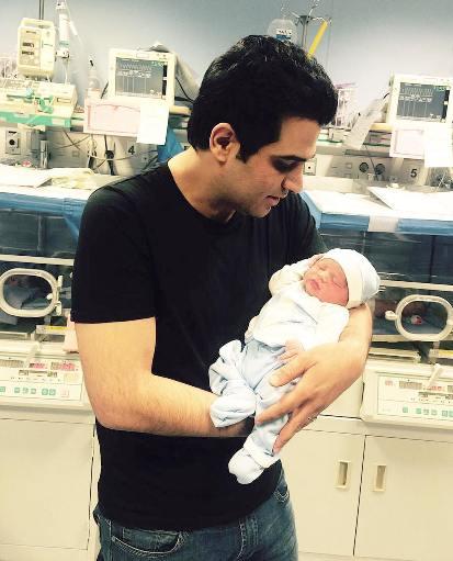 حمید عسگری خواننده سرشناس کشورمان پدر شد! تصاویر