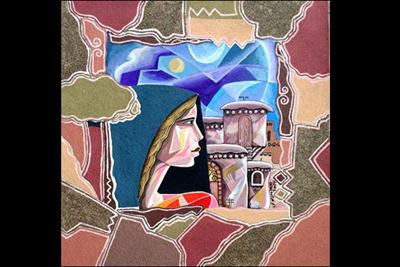 هنرمندی که روی همه ملحفههای زندان رژیم صهیونیستی نقاشی کشید تصاویر