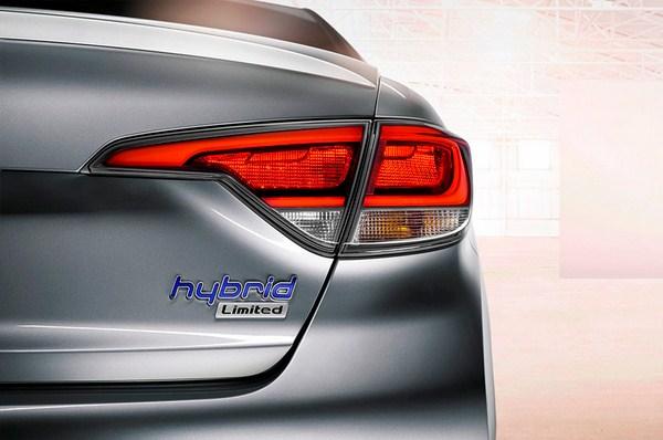 معرفی خودروی هیوندا سوناتا هیبرید مدل ۲۰۱۶  تصاویر