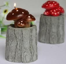 شمع قارچی (آموزش ساخت ) عکس