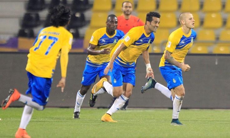 صحنه گل و شادی بازیکن ایرانی در لیگ قطر
