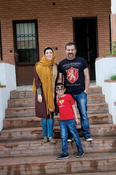 دکوراسیون خانه مهراب قاسمخانی و شقایق دهقان
