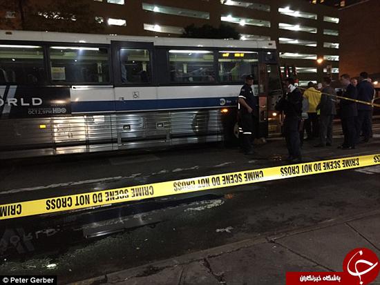فجیع ترین مرگ یک زن در تصادف با اتوبوس