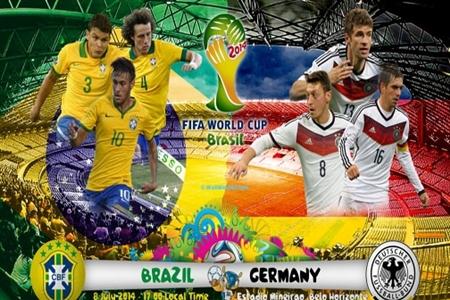 سنگین ترین شکست تاریخ فوتبال برزیل/ آلمان برزیل را دفن کرد!