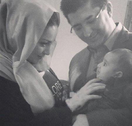 عکس های جدید شیلا خداداد , فرزندش و همسرش