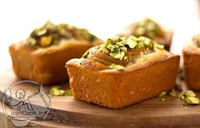 دستور تهیه کیک پاییزی و بسیار خوشمزه خرمالو! عکس