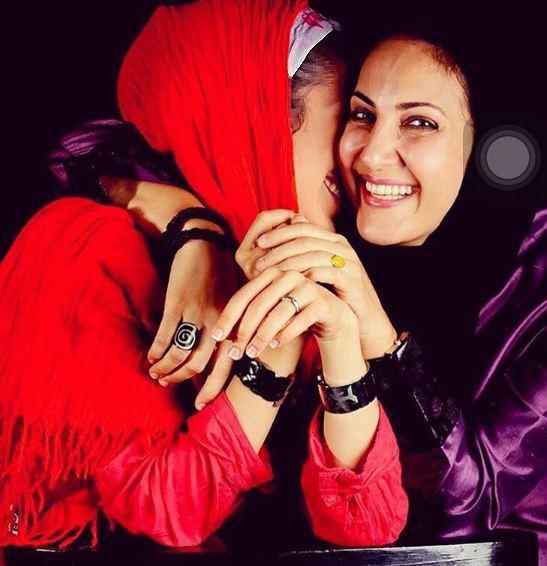 عکسهای خانوادگی جدید فاطمه گودرزی بازیگر کشورمان! تصاویر