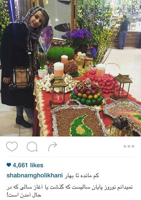 شبنم قلی خانی و عکسهایی جدید از وی و دخترش تصاویر