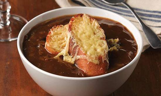 سوپ پیاز فرانسوی، مخصوص بهار