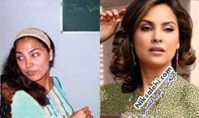 بازیگران بالیوودی قبل و بعد از آرایش