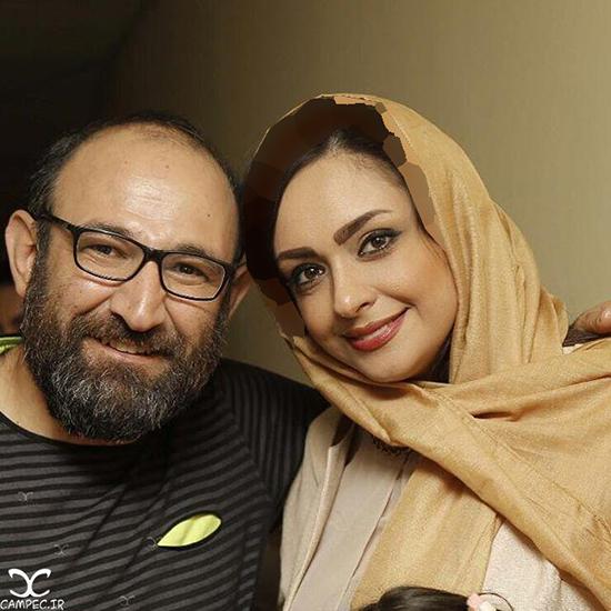 اولین سالگرد ازدواج هدایت هاشمی و همسرش