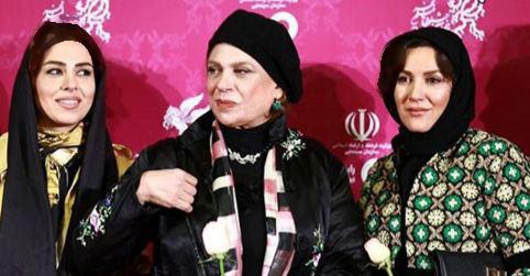 گوهر خیراندیش و عکسهایش در جشنواره فیلم فجر تصاویر