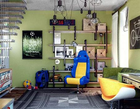 اتاق خواب های خلاقانه برای نوجوان ها  تصاویر