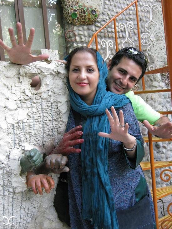 عکس های بهنام قربانی بازیگر سریال برادر با همسر و فرزندش