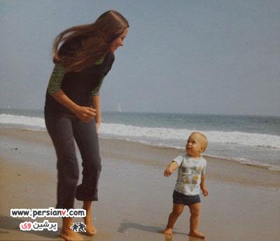 تصاویر تازه منتشر شده از آنجلینا جولی و خانواده اش