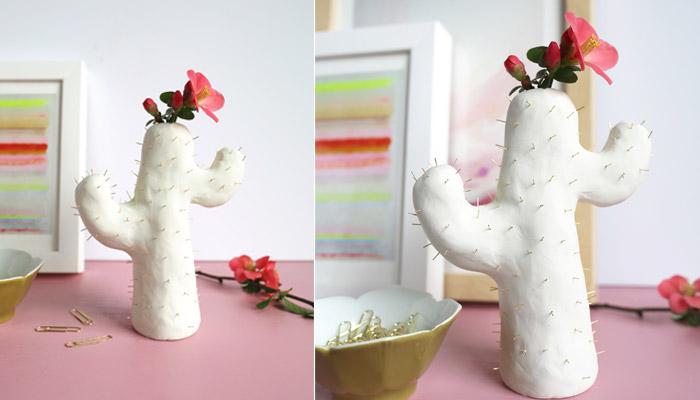 آموزش ساختن گلدان کاکتوسی بسیار جالب و زیبا