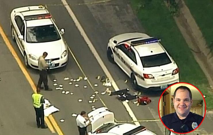 پلیس راهنمایی و رانندگی به دست مرد عصبانی فلج شد