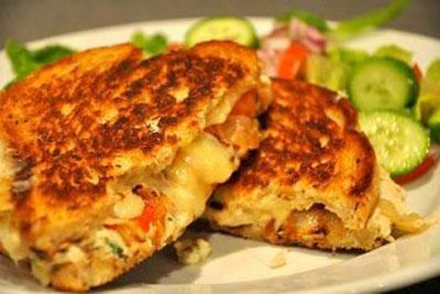 ساندویچ تناملت آسان و خوشمزه