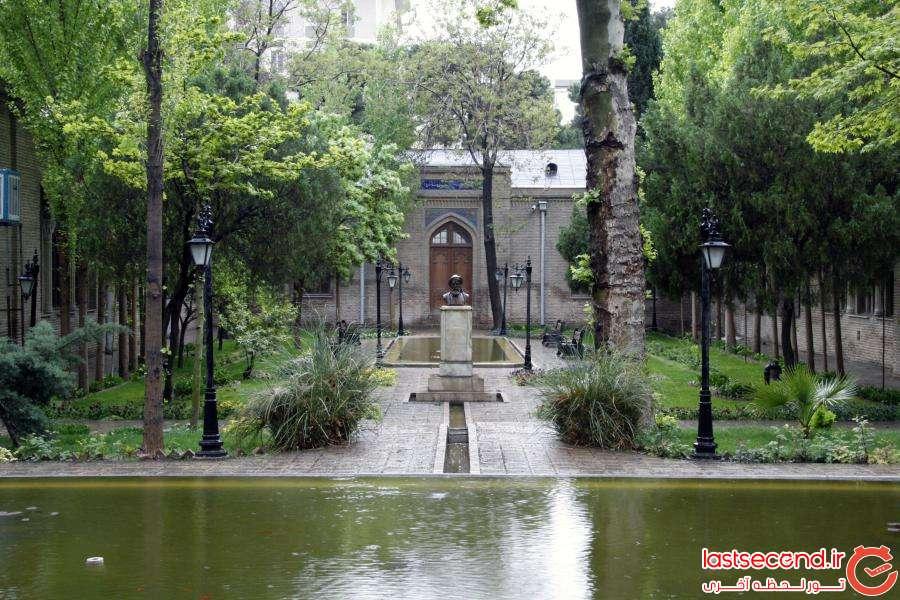 باغ زیبا و کهنسال نگارستان