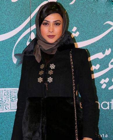 آزاده صمدی و ملیکا شریفی نیا در کاخ جشنواره فیلم فجر تصاویر
