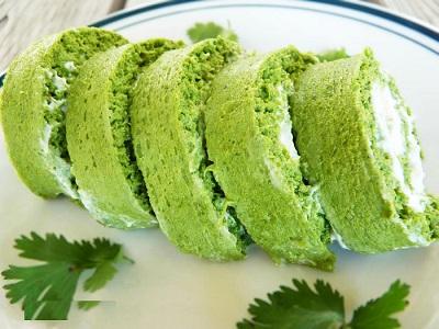 رولت مجلسی کوکو سبزی به شیوه ای جدید و متفاوت! عکس