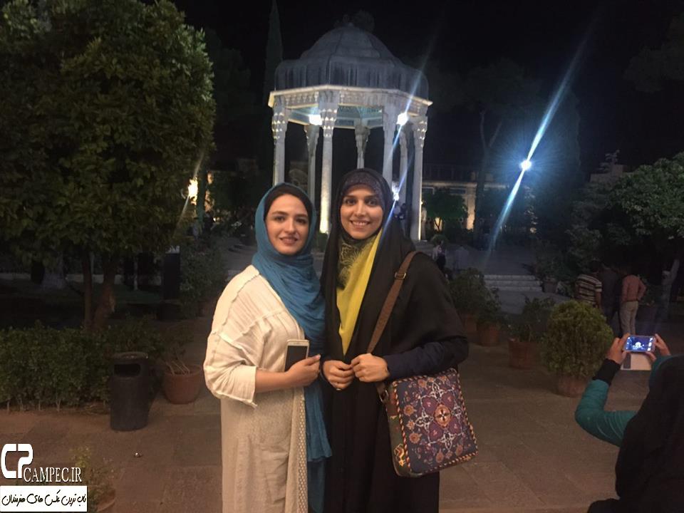 گوهر خیراندیش و دخترش در شیراز