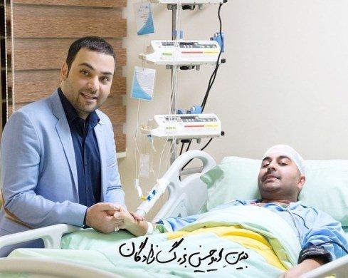 عکسهایی از احسان علیخانی و عیادت او از بهنام صفوی تصاویر