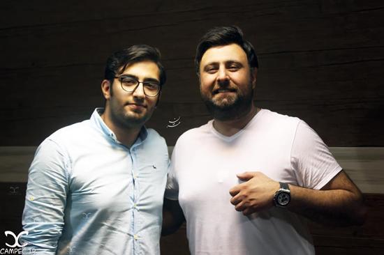 عکس های نوید عبداللهی پسر مرحوم ناصر عبداللهی و همسرش