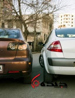 مقایسه رنو مگان و مزاد 3  تصاویر