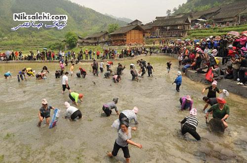 مسابقه ای که فقط از چینی ها سر می زند