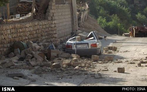 تصاویر جدید از منطقه زلزله زده ایلام و مردم آواره و مصدوم