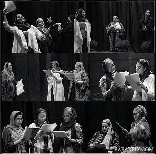 عکس های جدید و جالب نمایش دورهمی زنان شکسپیر