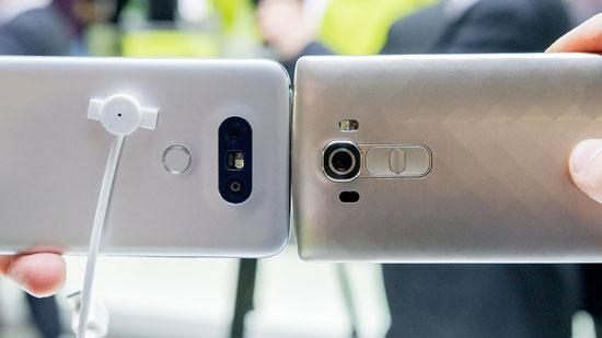 ویژگی های منحصر به فرد گوشی هوشمند LG G5 تصاویر