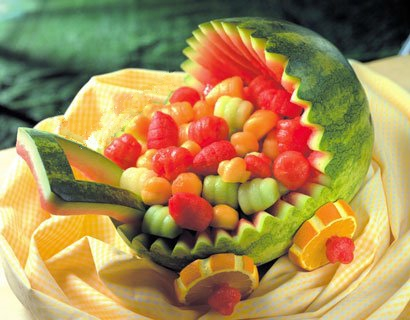 شیک ترین و جدیدترین تزئینات هندوانه شب یلدا