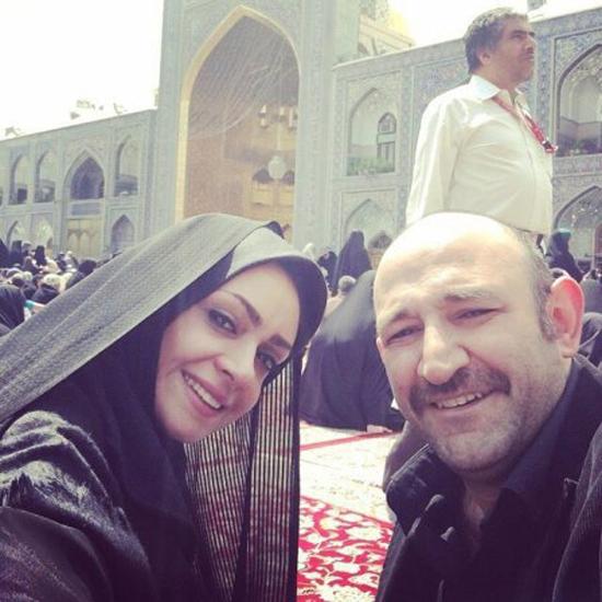 عکس های متفاوتی از بازیگر مرد کشورمان و همسر دومش مهشید ناصری
