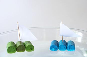 آموزش ساخت کاردستی قایق با چوب پنبه