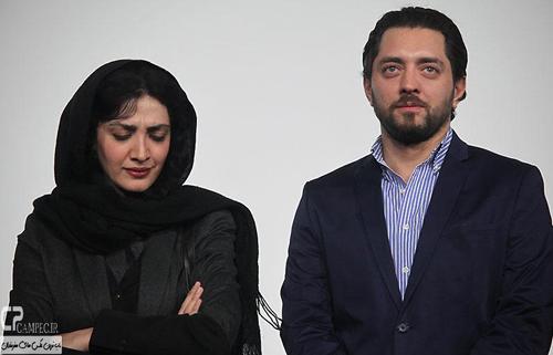 عکس های فرش قرمز و نشست فیلم عصر یخبندان در جشنواره فجر