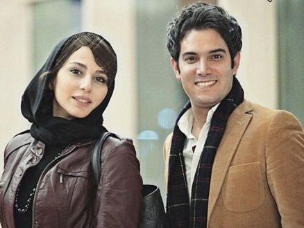 امیرعلی نبویان در کنار بازیگر مشهور زن در کاخ جشنواره عکس